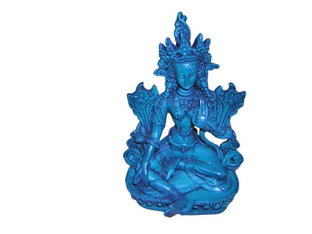 Tara Green made from clay (resin) from Nepal