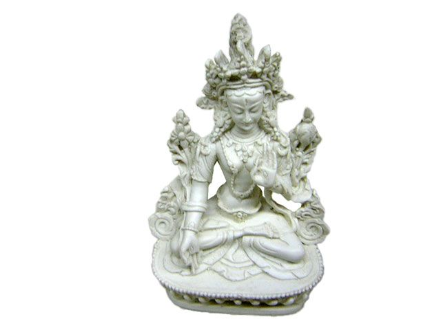Tara White made from clay (resin) from Nepal